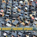 Image for the Tweet beginning: The Honest Teacher Speaks (Part