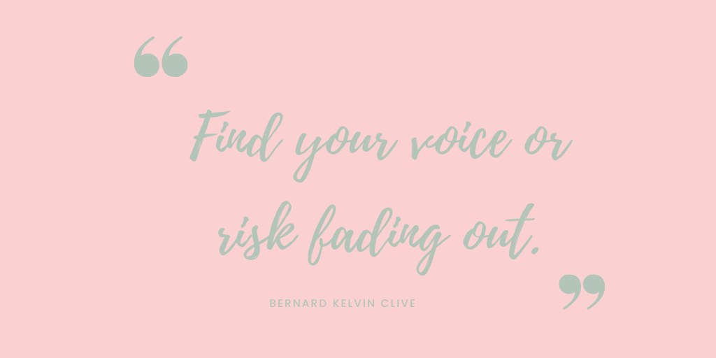 All month I've been seeking my voice. My true path to sharing my gift of being vulnerable.