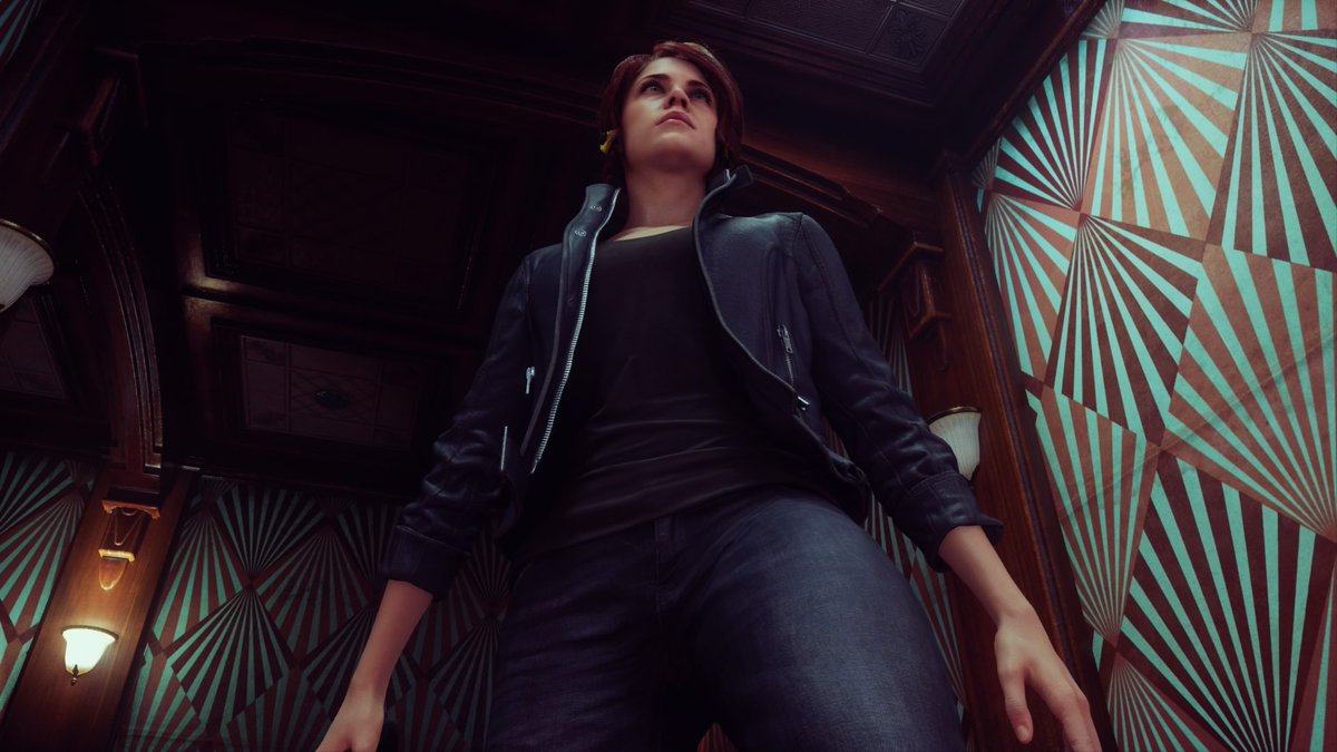 """If Jesse was a model...  """"Defeating enemies is music to my ears... That's why I use Sony Walkman, brought to you by Ahti""""  #NowPlaying️ Old Gods of Asgard:Take Control  #ControlRemedy #PS4share #VirtualPhotography #PhotoMode"""