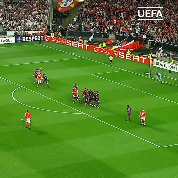 🦅 #TBT to these Benfica goals 😍 #UEL | @SLBenfica