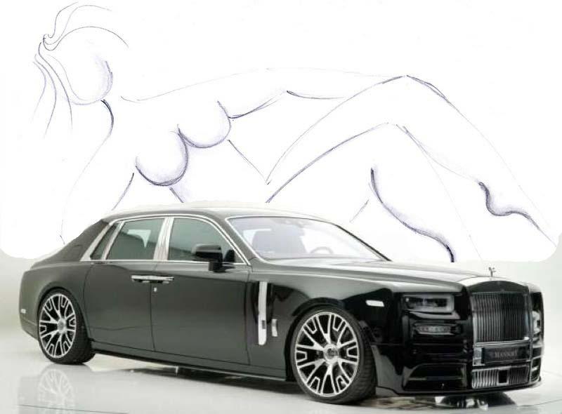 "L'Art et la Voiture.."" Phantom "" By MATEO.MORNAR...#rolls-royce...#phantomVIII..#mansory......#dessin..#monaco..pic.twitter.com/SVko7jIEPP"