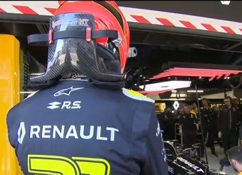 Au tour d'Esteban Ocon de prendre la relève cette après-midi au #F1Testing jour 2. #RSspirit #Formula1 #F1 #RS20 #EO31