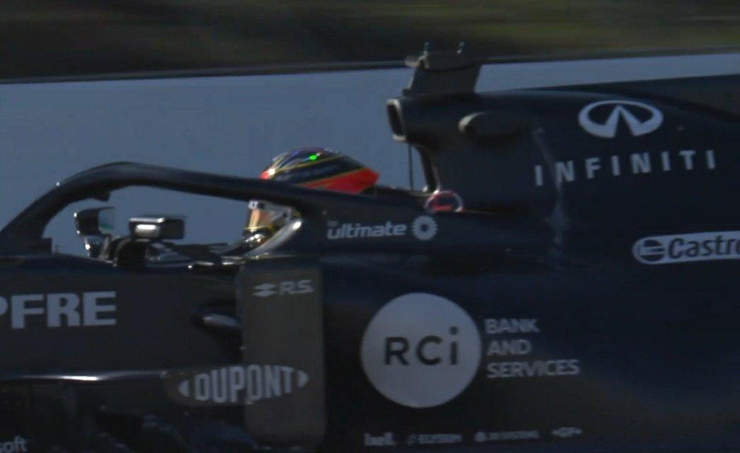 Esteban en piste en pneu C2 !! #F1Testing #F1 #EO31 #RS20