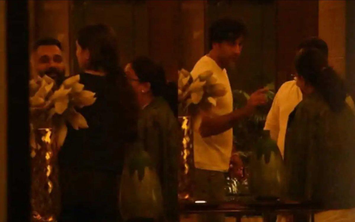 Luv Ranjan & Deepika..looks like that AD-RK-DP wala movie is still on👌 Kya baat hai..the camaraderie between Dp & #MeToo accused Luv looks amazing😍