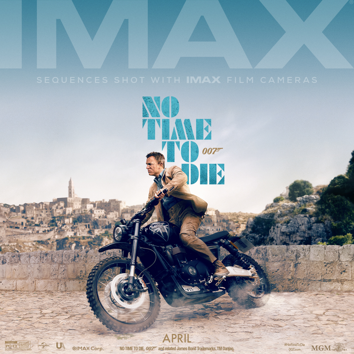 """The world premiere of the new @007 """"No Time to Die"""" is on April 7th! The online ticket sales for the public screening are open now :  https://t.co/TEKL2DCLHK Proceedings will go to charity.  @Grimaldi_Forum @VisitMonaco"""