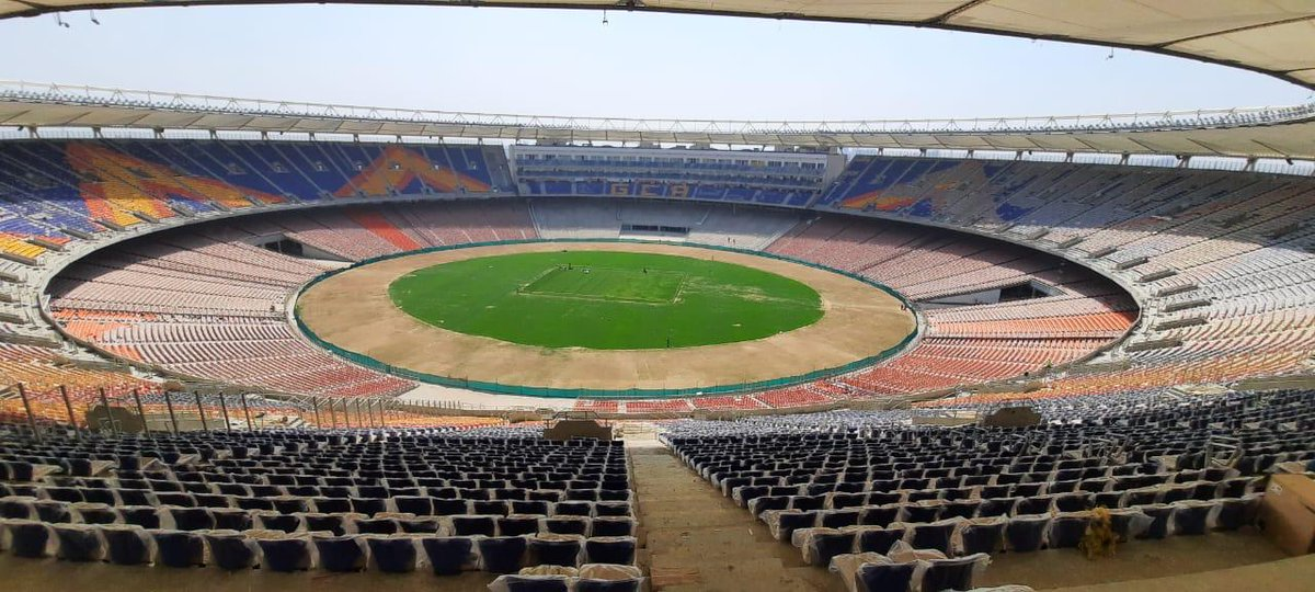 Motera Stadium awarded IGBC Gold Green Building rating; becomes India's first green rated Cricket stadium