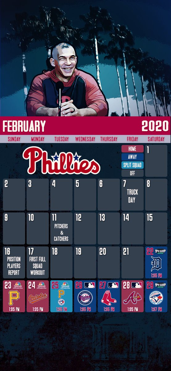 @NHLFlyers @sixers and @Phillies February schedule mobile wallpapers.   #NowOrNever #PhilaUnite #RingTheBell #Flyers #Sixers #Phillies