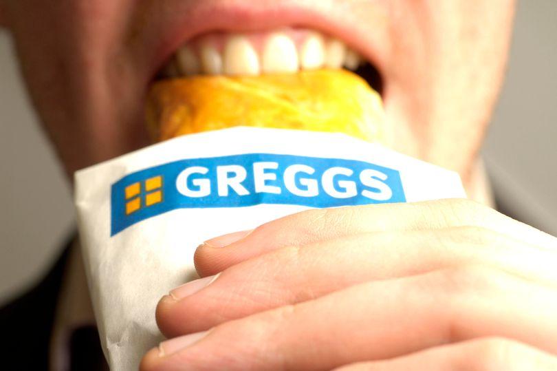 Greggs releases black card offering free food delivered to your door mirror.co.uk/money/greggs-r…