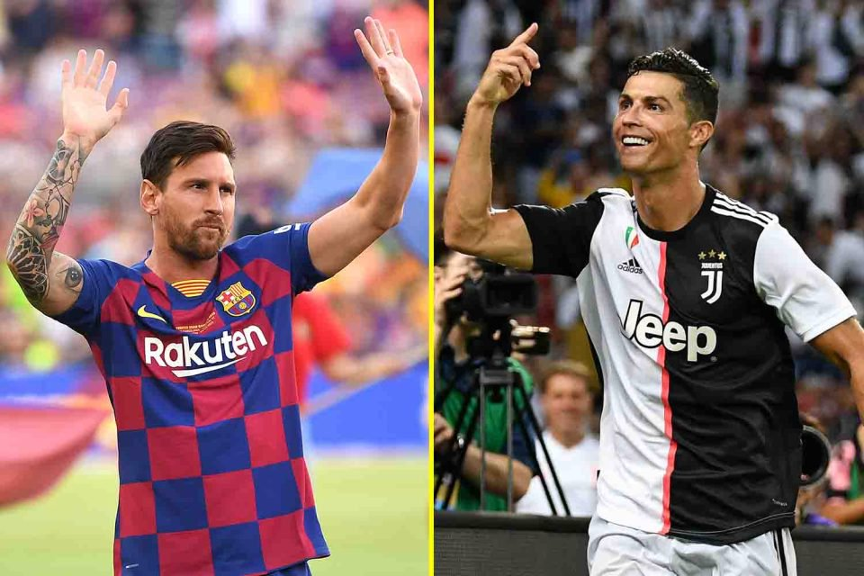 """Cristiano and Messi when asked about UCL:   Messi: """"Right now, I don't think we're good enough to win the Champions League.""""  Cristiano Ronaldo: """"Yes, Juventus can win the Champions League. We have to take it step by step.""""  The levels in mentality."""