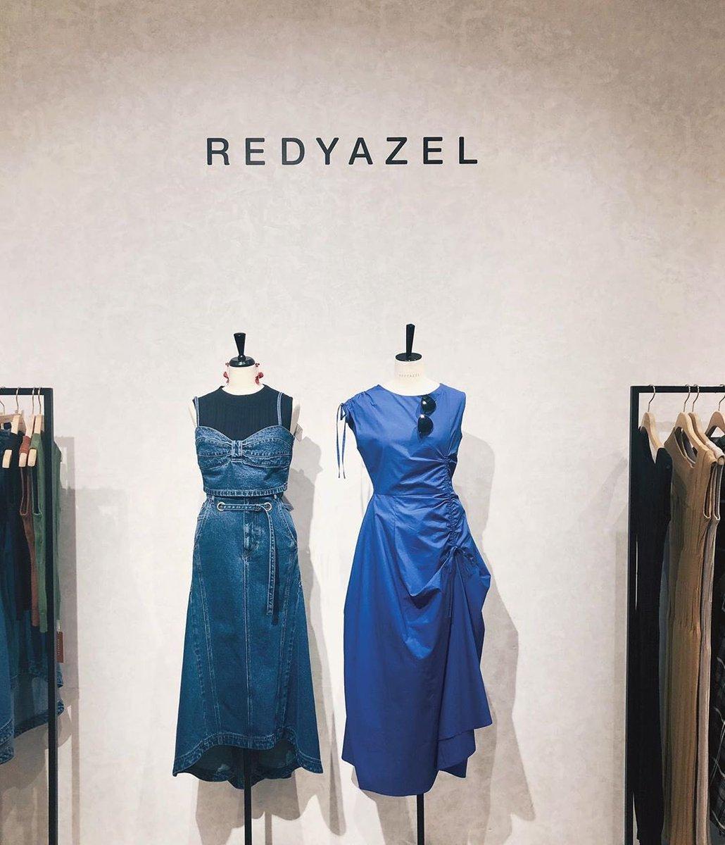 #福岡聖菜   redyazel 展示会へ 夏なんてまだまだ先だ〜と 思ってたのだけど お洋服を見ていたら楽しみになってきたなぁ。。   少し、ガーリーなテイストに挑戦する予定。楽しみにしててくれると嬉しいな☺️  #redyazel #展示会  #summer #夏コーデ #青コーデ