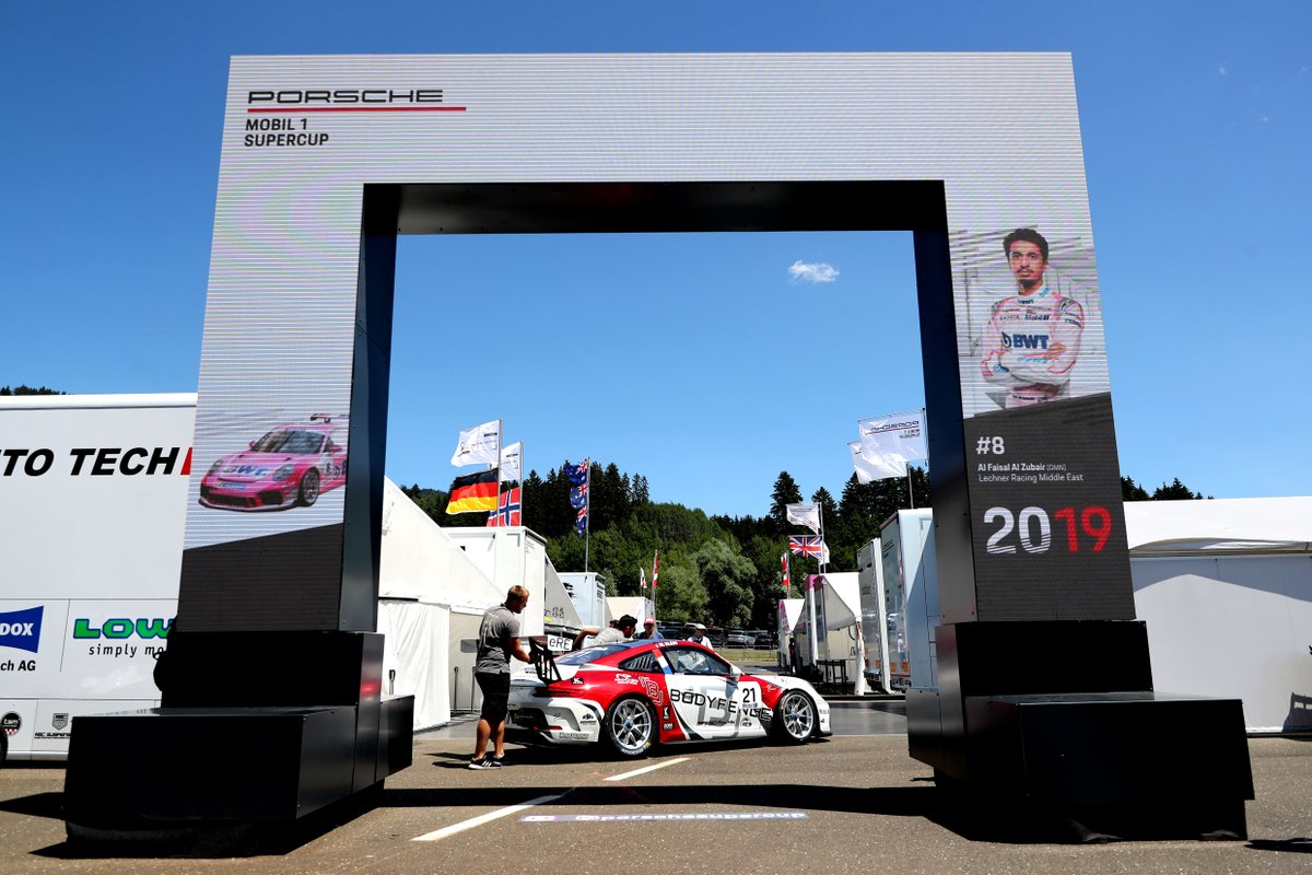 PorscheRaces :user Image Credit RT: @PorscheRaces… #porsche #PorscheMobil1Supercup #PorscheRaces #sportscar #motorsport #racecar #racing... #PorscheMobil1Supercup - Last season, the entry to the Supercup paddock was marked by an eye-catching piece of…pic.twitter.com/TgGgCeDMU2