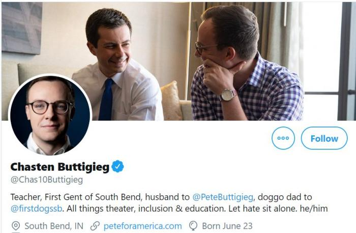 Pete Buttigieg's Husband Chasten Could Become First Gentleman...<br>http://pic.twitter.com/QWQtV5yVeI