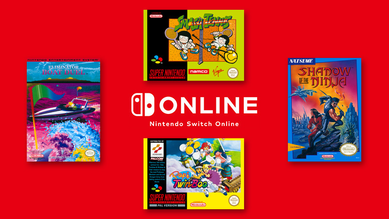 The four new SNES and NES games are available for Nintendo Switch Online members #Repost