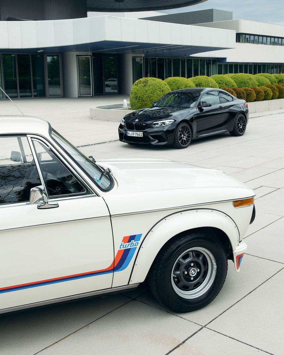Too much power for just two. The BMW M2 and the BMW 2002 Turbo.  #TheM2 #BMW #M2 #BMW2002 #BMWM #BMWClassic #TBT