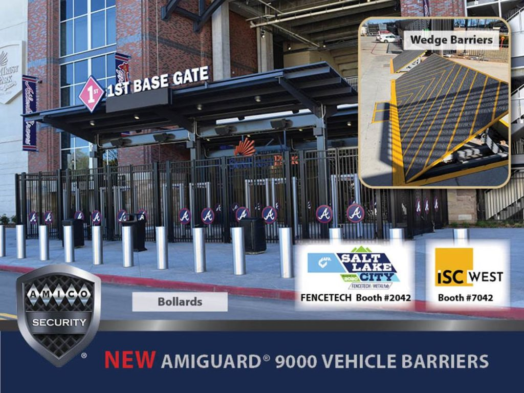 NEW AMIGUARD® 9000 Series Vehicle Barriers. #AMICOSecurity is offering manufacturing, integration, design, & installation of crash rated anti-vehicular equipment & expert support for government, industrial, commercial, & residential applications.➡️https://t.co/fzPYczgtBe https://t.co/orI09MAiII