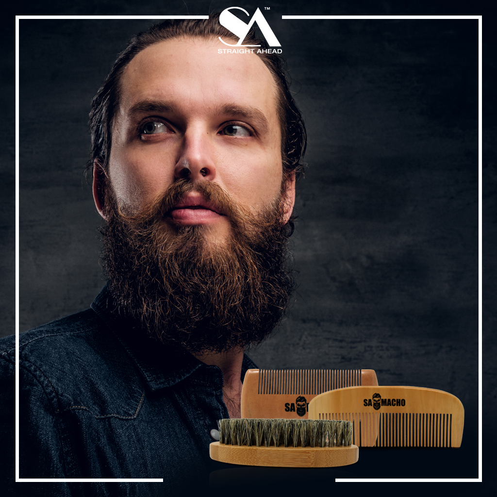 No #beard #styling routine would be complete without the proper #brushes and #combs. Check out our new line of #beardcare tools today at http://www.straightaheadbeauty.com  or at a local Independent Retailer near you!   #beardoil #beardbalm #beardwax #beardgang #beardproducts pic.twitter.com/lAq1muJ0HQ