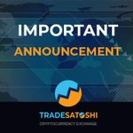 Image for the Tweet beginning: Tradesatoshi is closing down. Read the