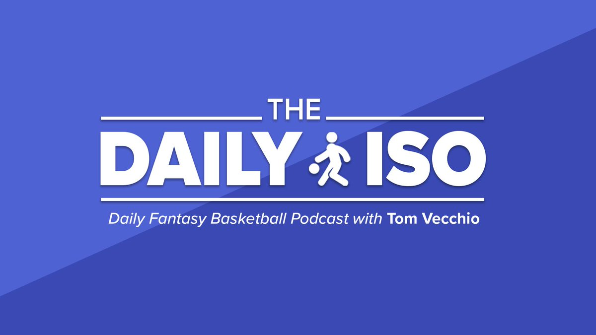 The NBA is back from the All-Streak break and we have six games on the slate. No major injuries tonight, so which star players should you pay up for?   The Daily Iso with @DFS_Tom breaks down it all down 🎙  🎧: https://apple.co/30J3PPi  @FanDuelPodcasts