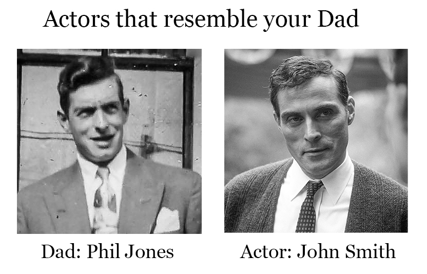 Actors that resemble your Dad.  #HighCastle #celebritygame