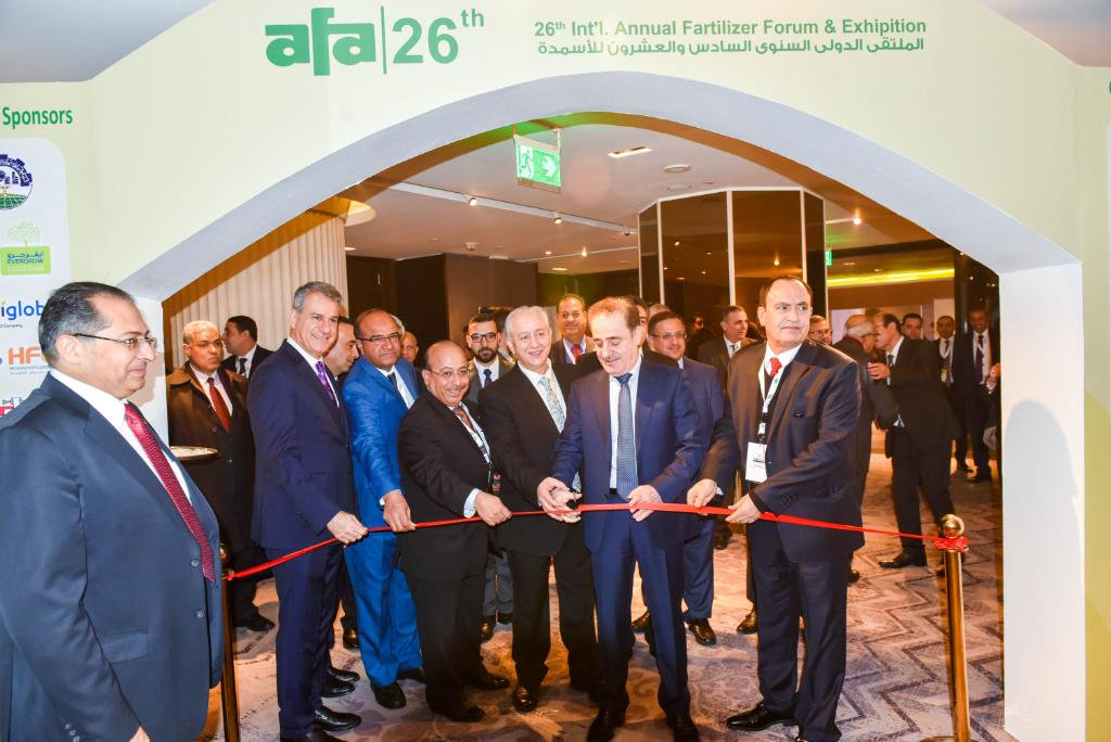 As the diamond sponsor of the 26th #AFA International Annual #Fertilizer Forum & Exhibition in Cairo, we had a premium booth showcasing our innovative Agri-nutrient solutions designed for African market. Ashok, Chief Scientist, Global Technology, presented a paper.  #SABIC