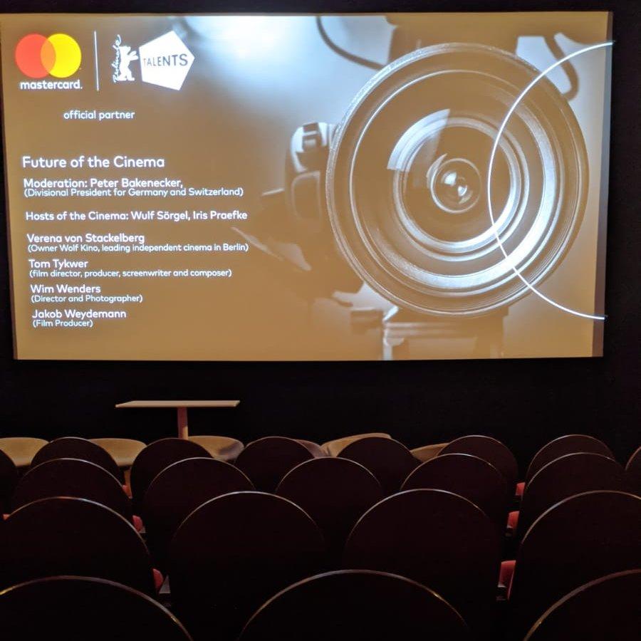 Heute ist ein großer Tag! Die @Berlinale startet und wir sind im @kinomoviemento, um die Kampagne #MoviementoHero zu unterstützen! Wir haben ein tolles Panel mit @PeterBakenecker, @JakobDWeydemann, Tom Tykwer, @vevons und Wim Wenders. #Berlinale2020pic.twitter.com/lCpueZoDlO