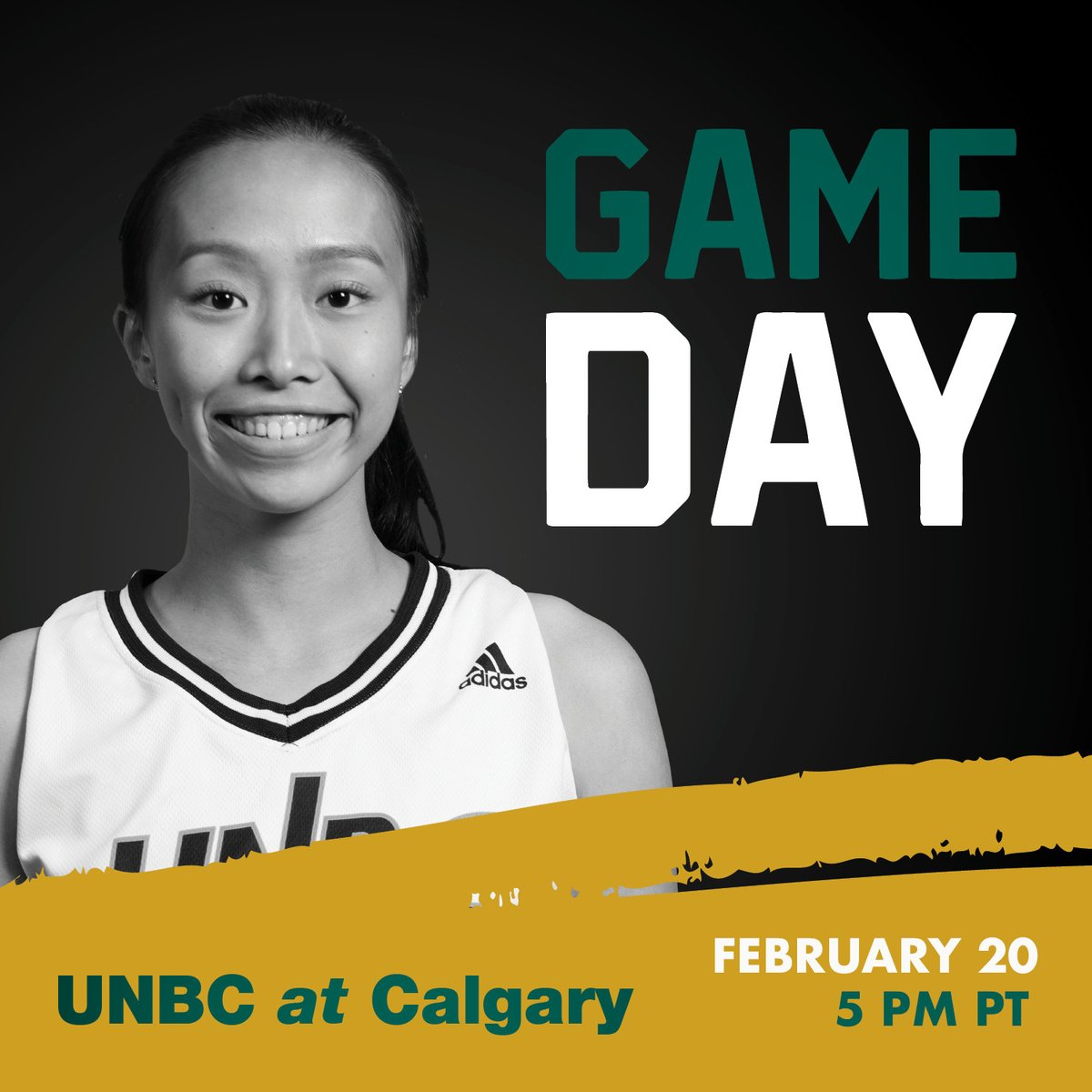 GAMEDAY!! Lucy Guan  & @UNBCWomensBball take on the @DinosWBB tonight in a single-game elimination @CanadaWest playoff matchup! Tipoff it set for 5 PM PT, and you can watch it on CW TV! #gotwolves pic.twitter.com/rUPabXZkzW