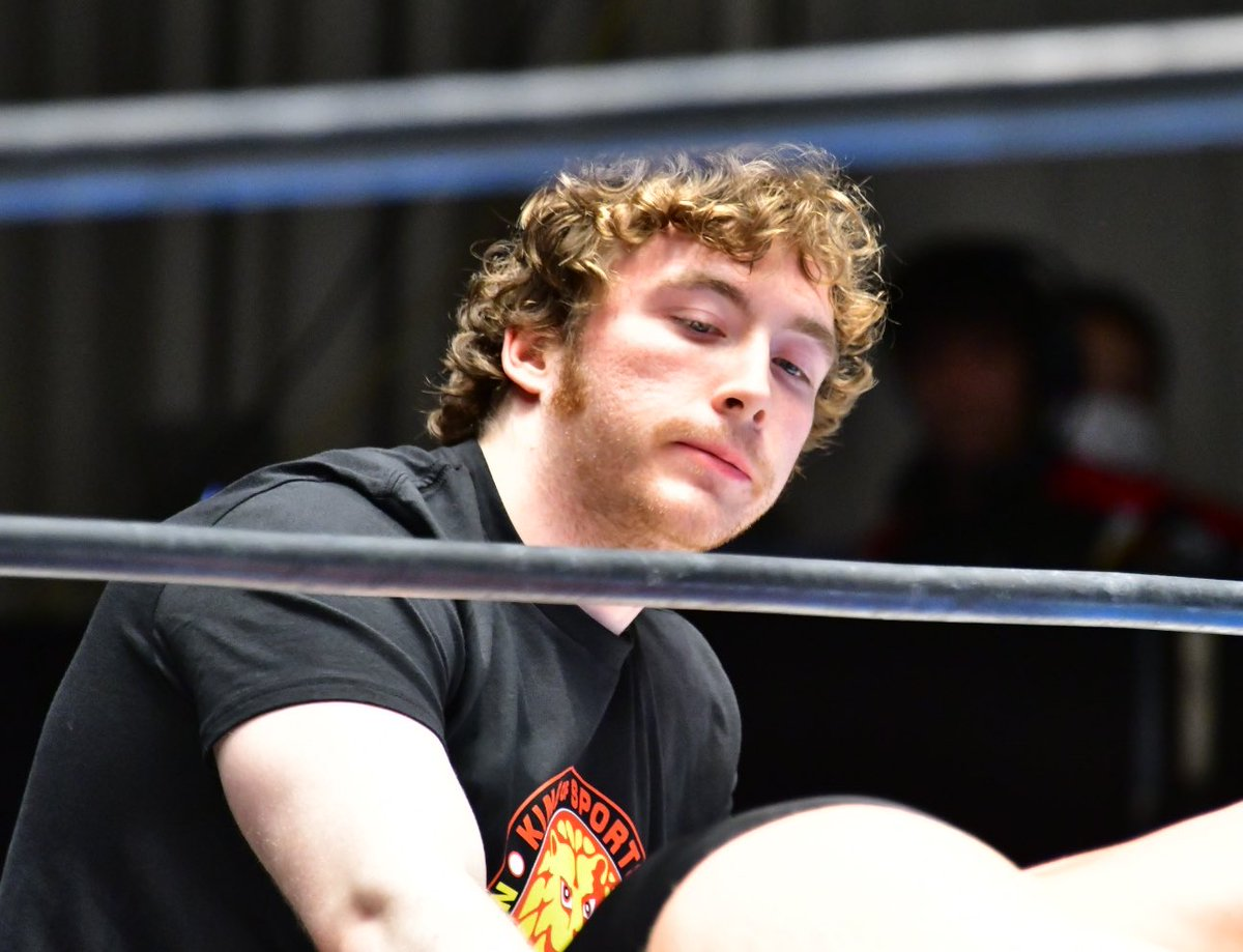 William Regal's Son Joe Bailey Training For NJPW Career (Photos)