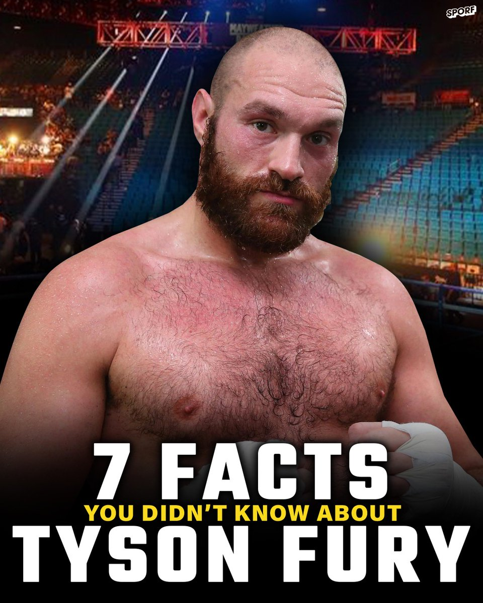 👶 Born 12 weeks premature and weighed 1lb. 🦇 Gatecrashed his own press conference dressed as Batman. 🏟 Dreams of staging a fight Old Trafford. 👑 7 things you didnt know about the Gypsy King @Tyson_Fury!