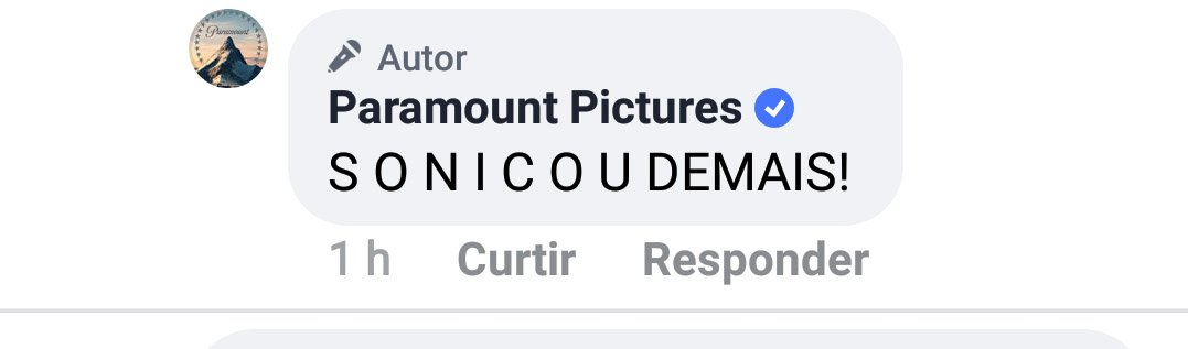 "Cara, @ParamountBrasil me notou!!! Será que tô ""zerando a vida?"" pic.twitter.com/FY7ePH8GjQ"