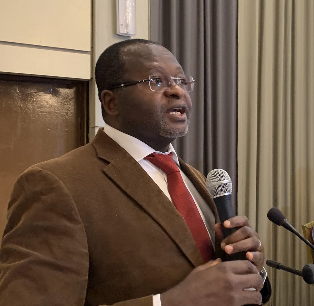 Dr Peter Minang @icraf says trees can move #theGambia to green economy & reduce poverty. 'People know the environmental part of trees but not the economic. Trees can generate electricity, boost livestock sector & more. @UNEP @theGCF @corafnews @UKinGambia @cifor @euinthegambia
