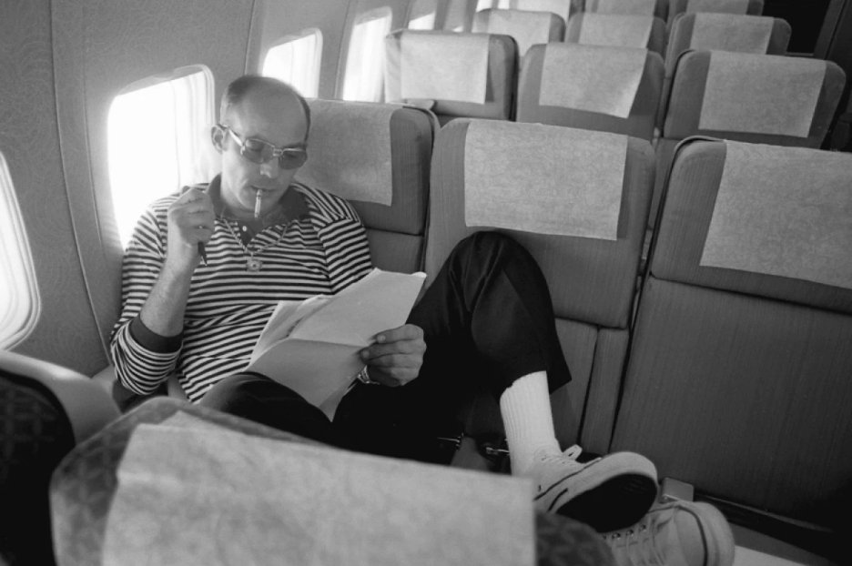 Hunter S. Thompson died 15 years ago today. Read how he defined his legacy at 'Rolling Stone' and changed journalism in the process https://rol.st/39JSZvm
