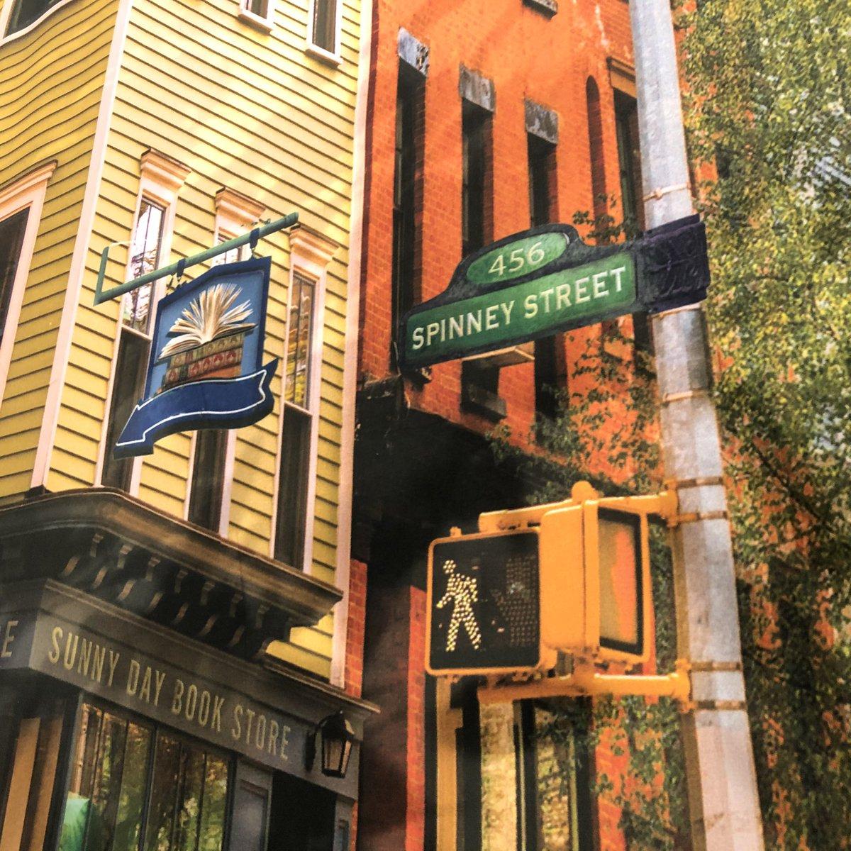 Seen today on Sesame Street... . @sesamestreet #SpinneyPlace #SesameStreet #setdesign #homage