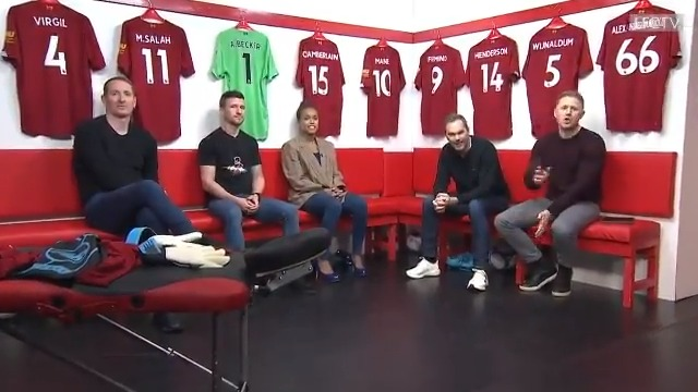 On tonight's #LFCLater, we're joined by @ChrisKirkland43, @RobbieDaviesJr and @TashaJonas 🙌  🥊⚽️ Vegas, #FuryWilder2, the #UCL and much more at 21:00 GMT: http://video.liverpoolfc.com