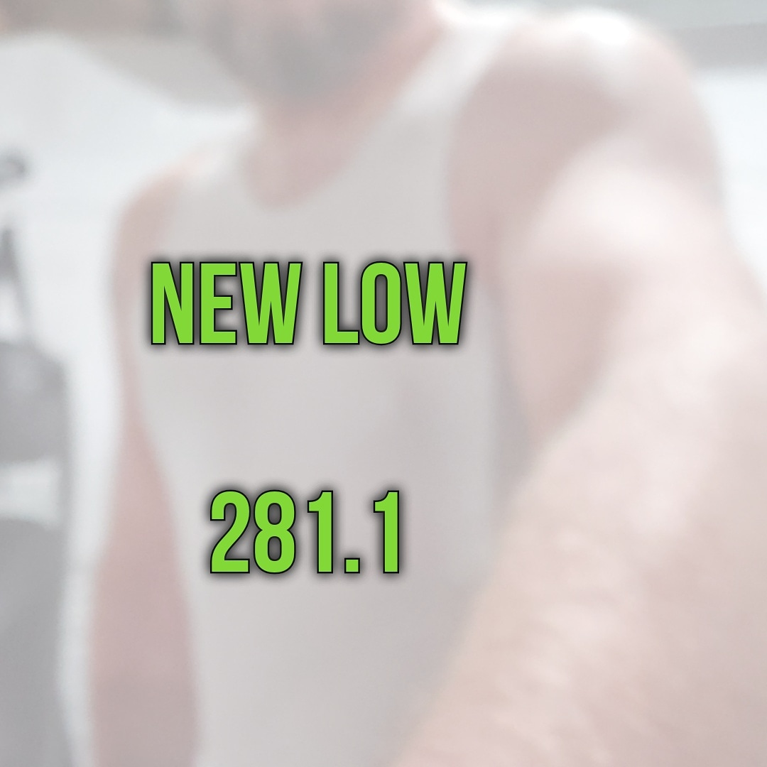 Soooooo close to the 270s!  #weightlossjourney #weightloss #fatloss #HealthyLiving #fitness #transformation #workoutpic.twitter.com/FgdQd8Ni4Y