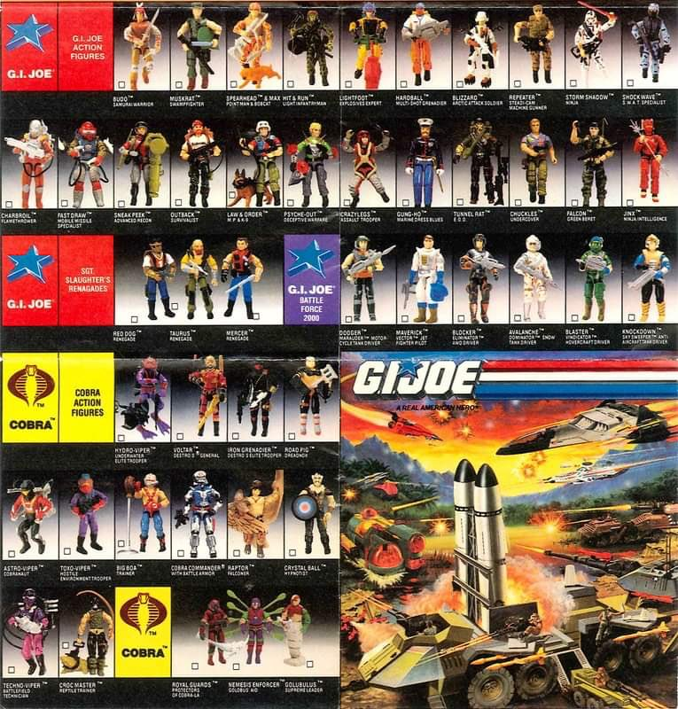 #TBT!!!  Taking you back to the Joes and Cobras of 1988!  Were you ALL IN???  #thefinestcc #gijoe #yojoe #cobra #1980something #retro #vintagetoys #retrotoys #tttmu #Nostalgia pic.twitter.com/lUuddovYkj