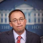 Image for the Tweet beginning: Mulvaney Admits GOP Doesn't Care
