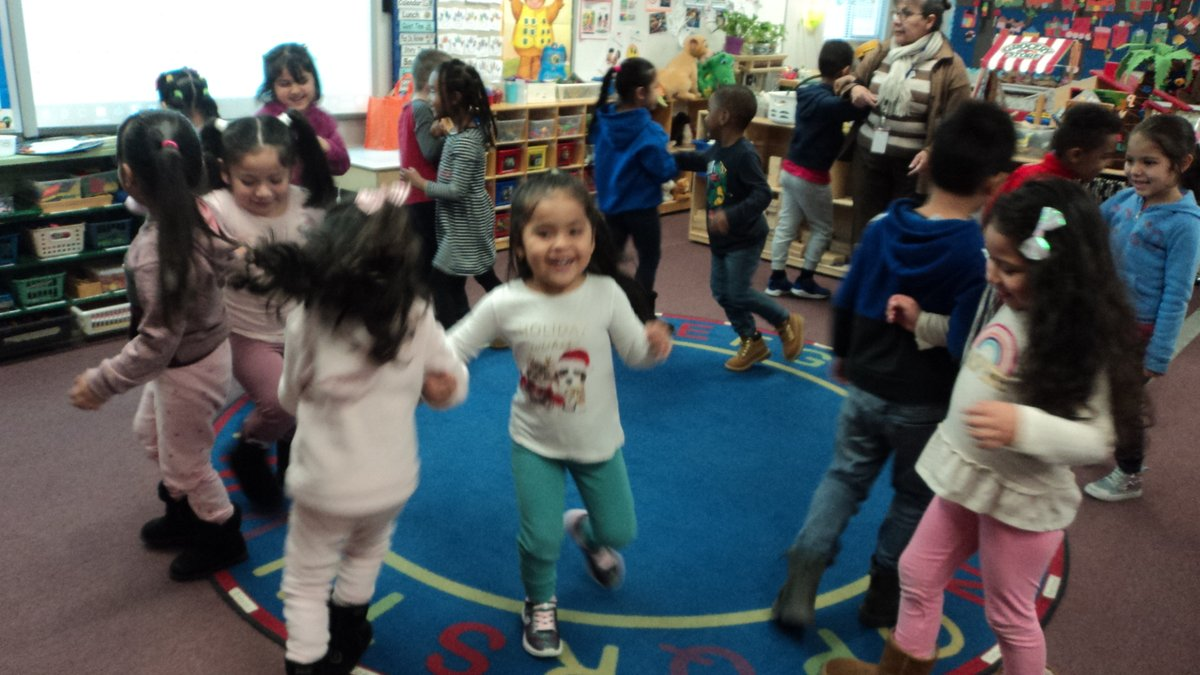 Nothing better than kids laughing: Prek enjoyed body movements in pairs learning inside/outside the circle during morning meeting activity. <a target='_blank' href='http://twitter.com/CampbellAPS'>@CampbellAPS</a> <a target='_blank' href='http://twitter.com/APS_EarlyChild'>@APS_EarlyChild</a> <a target='_blank' href='https://t.co/jVen7CUQN3'>https://t.co/jVen7CUQN3</a>