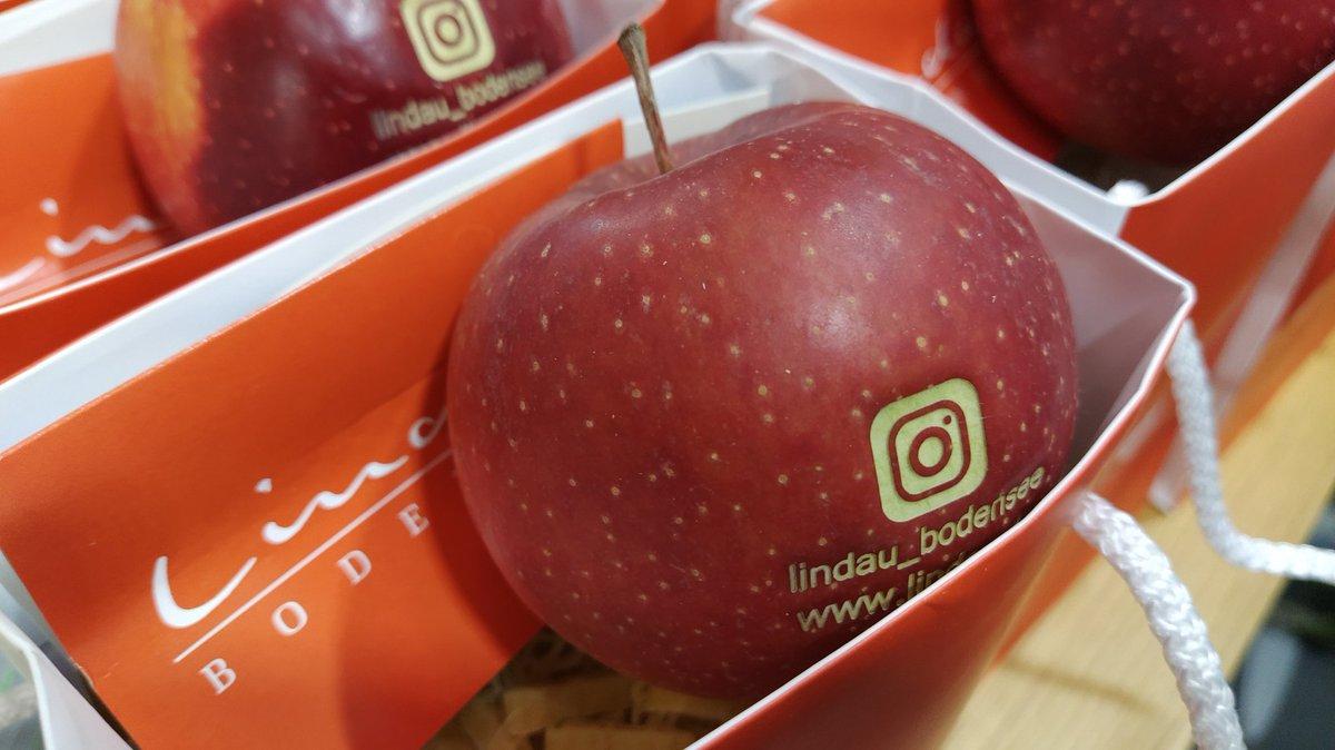 ᵂᴱᴿᴮᵁᴺᴳ Reisemesse http://f.re.e  Lindau! Natürlich mit Bodensee-Äpfeln...#IWalkFREE20 #freemesse #freemuenchen #freemünchen #reisen #freizeit #travel #messe #münchenpic.twitter.com/fu4ZtG4EGT