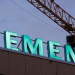 Image for the Tweet beginning: Siemens came under increased pressure