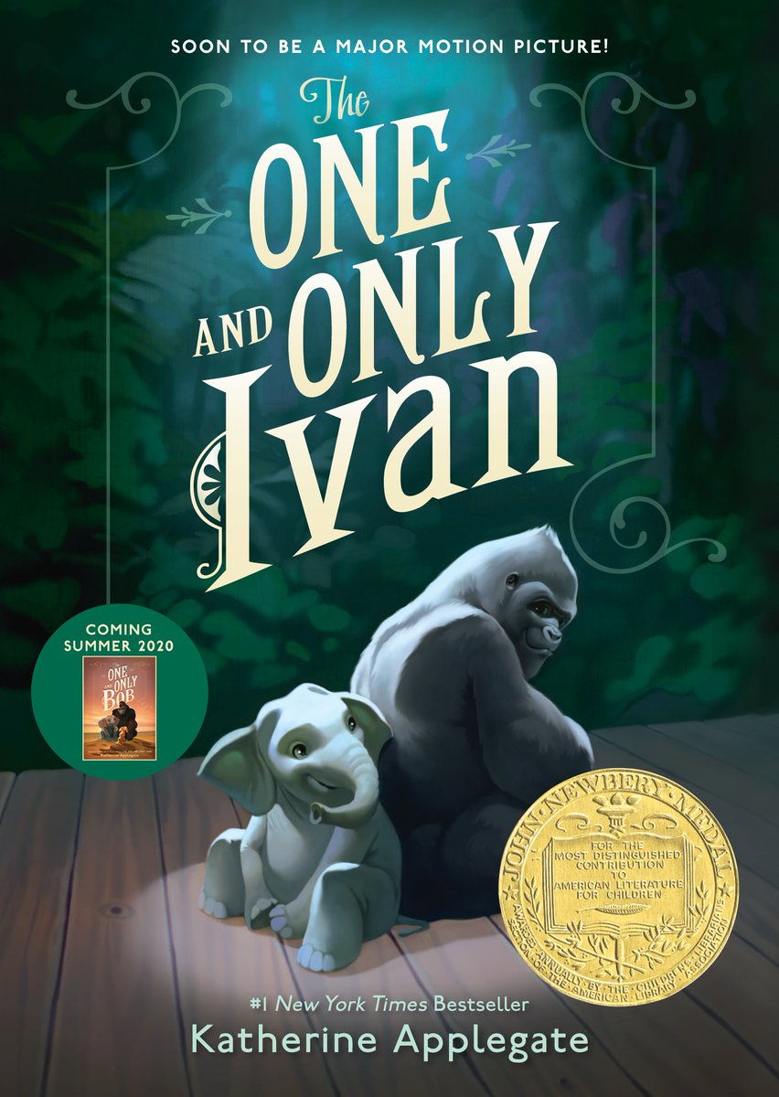 """I like colorful tales with black beginnings and stormy middles and cloudless blue-sky endings. But any story will do."" THE ONE AND ONLY IVAN by @kaaauthor"
