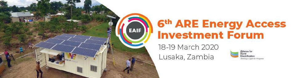 Register now for #EAIF2020! The event will be geared toward facilitating business deals and promoting investment in African off-grid markets. See our latest speakers and agenda. Event promoted by @RuralElec bit.ly/EAIF2020 #sdg7 #energyaccess #sustainablefinance