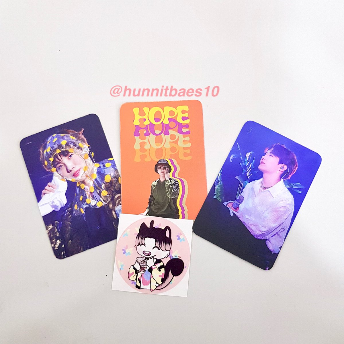 TADAAAAAAA! Here are our photocards and sticker!  We are collaborating with @softforyoon for the sticker, so thank you once again for making it happen Amy! Lots of love from  <br>http://pic.twitter.com/9NoOVqMtzb