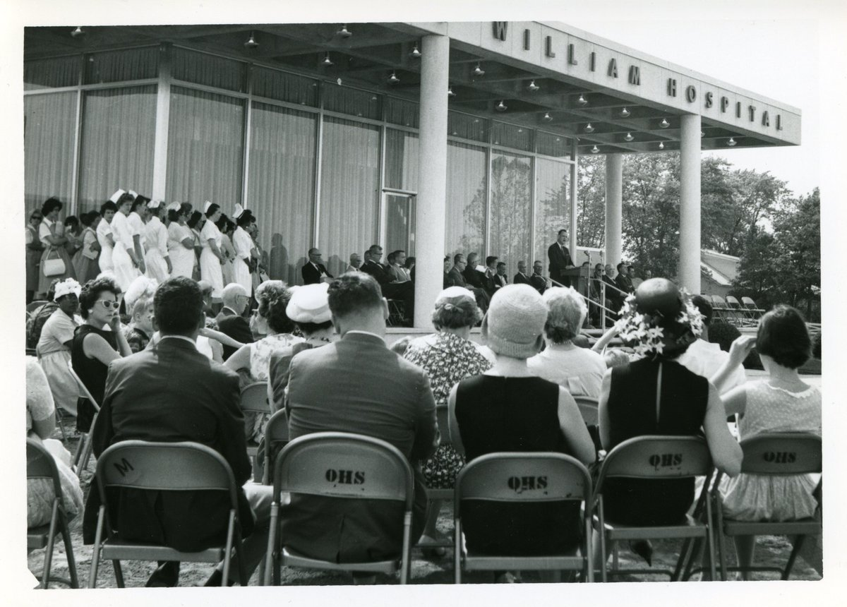 Today's #TBT looks back at the opening of Prince WIlliam Hospital in 1964! The hospital was renamed as the Novant Health UVA Health System Prince William Medical Center in 2016. #throwback #localhistory #cooperative #communitypic.twitter.com/rOrtep8nZ8