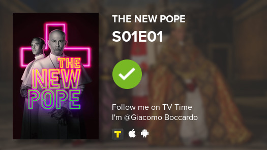 test Twitter Media - I've just watched episode S01E01 of The New Pope! #newpope  #tvtime https://t.co/NRT7k0MltN https://t.co/Hc6wsuowZh