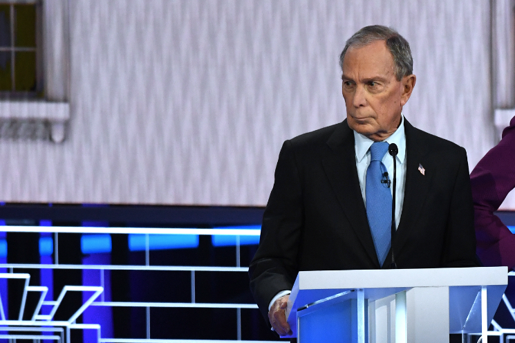 """The Nevada debate offered voters vital information — including the exposure of Michael Bloomberg's reputation for """"electability"""" rol.st/2vNGKiS"""