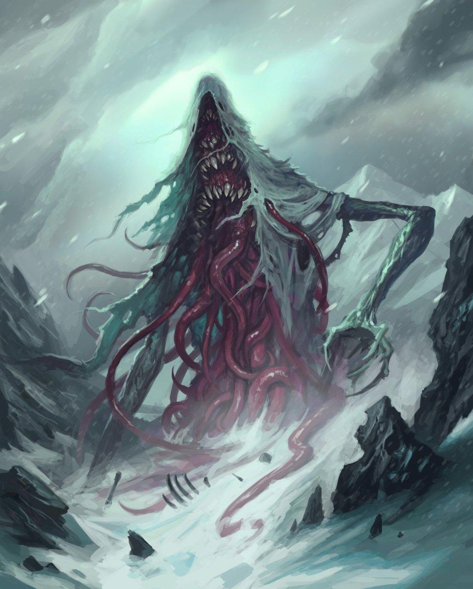 Storm Wraith by Diana Franco #horror #fantasyart #surreal #giants #teeth pic.twitter.com/LveB4mxUyE