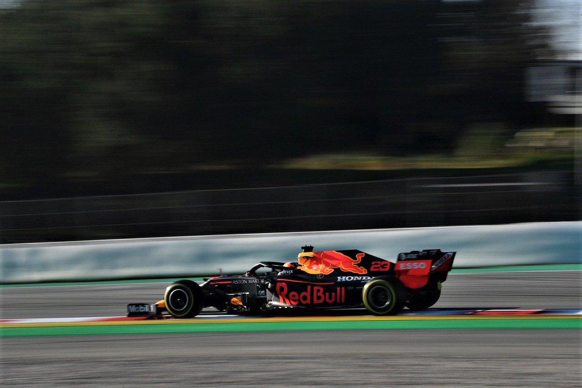 【第1回F1バルセロナテスト2日目・タイム結果】ライコネンが最速。ホンダ勢はハード寄りのC2タイヤで4&5位 https://www.as-web.jp/f1/567396 #2020年ホンダF1ニュース #F1 #f1jp #アルボン #ライコネン
