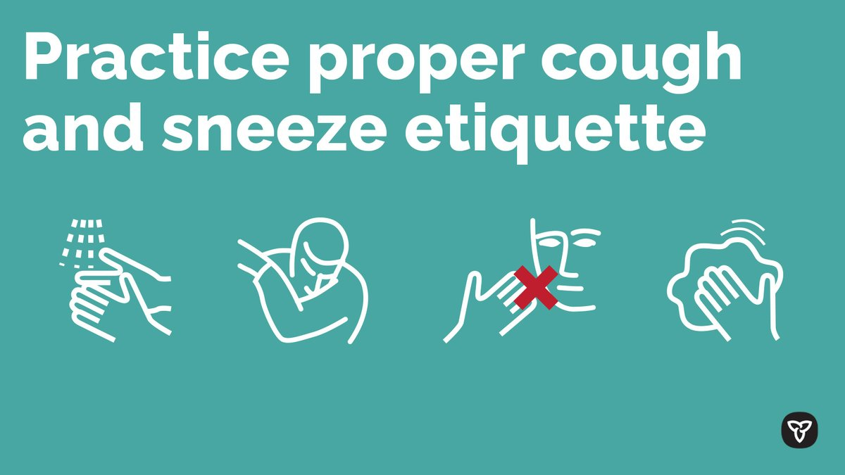 Help prevent the spread of germs and protect yourself from #coronavirus or other viruses by practicing proper cough and sneeze etiquette. http://bit.ly/2sU95D0