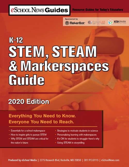 #RT @eschoolnews: The New #Librarian: How I created a makerspace, page 18 buff.ly/39SBcCe