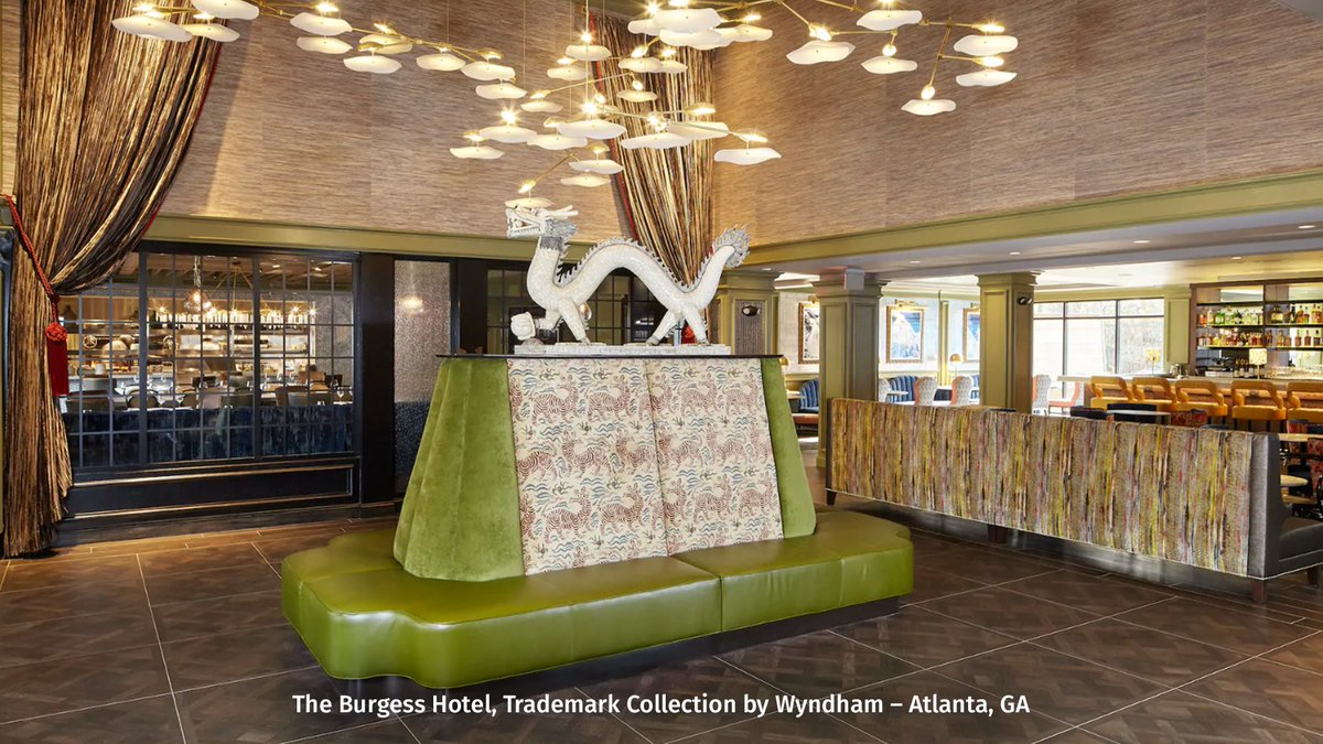 Located in stylish Buckhead, Atlanta, our boutique hotel puts you close to world-class dining, art galleries and shopping. Don't miss a minute of exploring (or savings with your Member Rate discount) by booking at The Burgess Hotel. Book now: